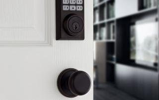 door lock open